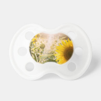 Sunny Sunflower Field Pacifier