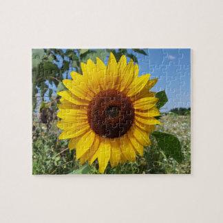 Sunny Sunflower Jigsaw Puzzle