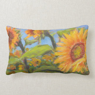 Sunny Sunflower Pillow for Back Support
