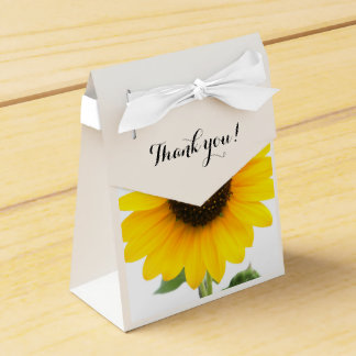 Sunny Sunflower Treat Box