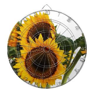 Sunny Sunflowers Dartboard