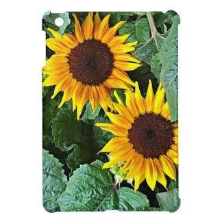 Sunny Sunflowers iPad Mini Cover