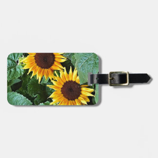 Sunny Sunflowers Luggage Tag
