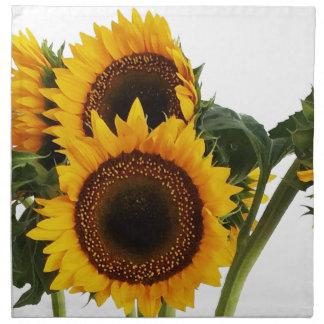 Sunny Sunflowers Napkin