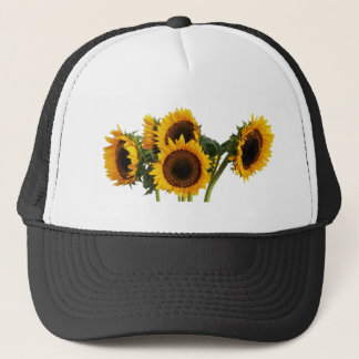 Sunny Sunflowers Trucker Hat