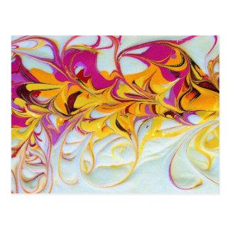 Sunny Swirls Postcard