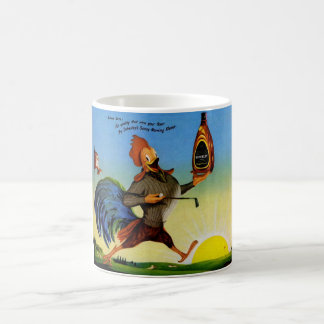 Sunny the Schenley Bourbon rooster on the golf cou Coffee Mug