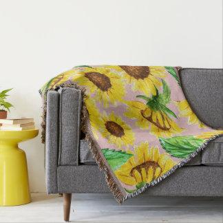 Sunny Throw Blanket