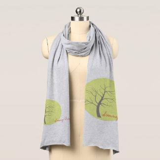 Sunny Tree Funky Soft Jersey Scarf