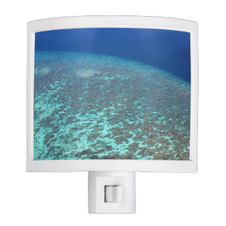 Sunny Tropical Maldives Coral Reef Blue Ocean Night Lite