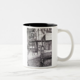 Sunny Window Two-Tone Coffee Mug