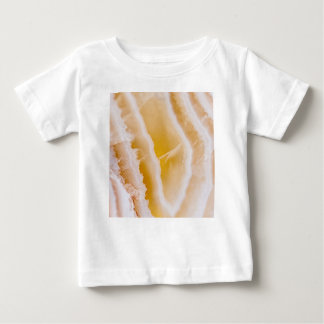 Sunny Yellow Agate Baby T-Shirt