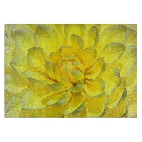 Sunny Yellow Dahlia Boards