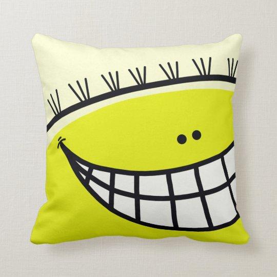 Sunny Yellow Pillow Man