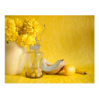 Sunny Yellow Postcard
