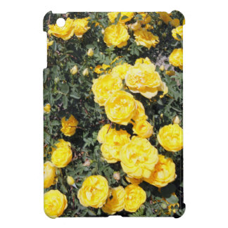 Sunny Yellow Rose Flowers Bus Cover For The iPad Mini