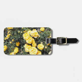 Sunny Yellow Rose Flowers Bus Luggage Tag