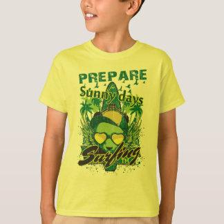 SunnyDay Surfing Kids Hanes Tagless t-shirt