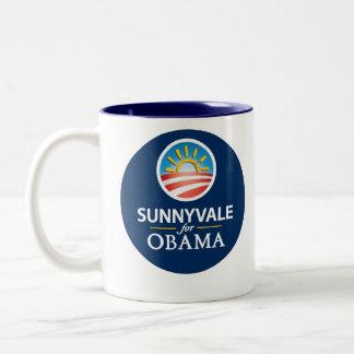 Sunnyvale for Obama Mug 1