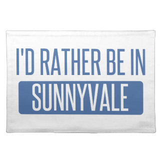 Sunnyvale Placemat