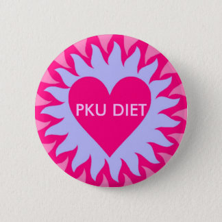 SUNQUEEN.2, PKU DIET 2 INCH ROUND BUTTON