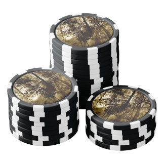 Sunray Forest Poker Chip Set