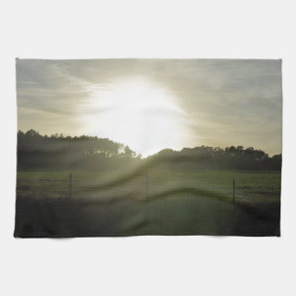 Sunrays on a Backroad Towels