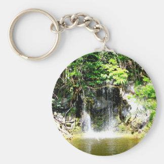 Sunreflected Waterfall Keychain