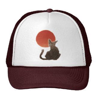Sunrise and Cat Trucker Hat