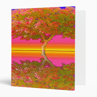 Sunrise and Sunset with Tree Vinyl Binder