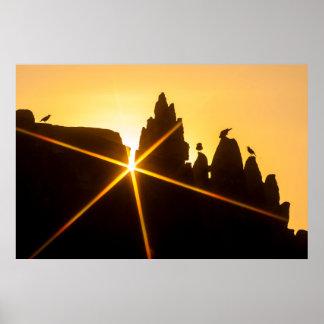 Sunrise at Angkor Wat Poster