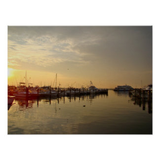 Sunrise at Atlantic Highlands New Jersey Poster