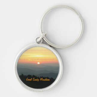 Sunrise at Clingman's Dome - Great Smoky Mountains Keychain