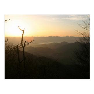 Sunrise at Copper Ridge, Appalachian Trail Postcard