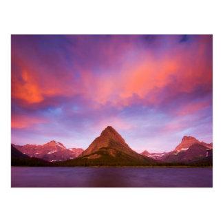 Sunrise at Glacier Postcard