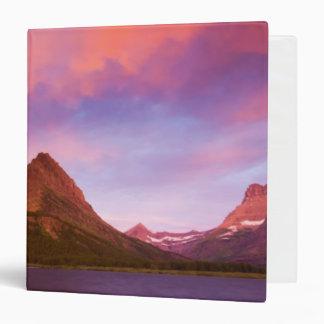 Sunrise at Glacier Vinyl Binder