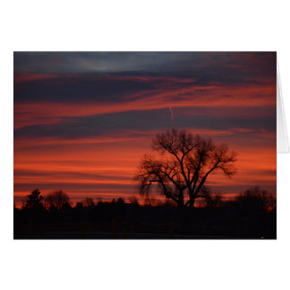 Sunrise at Harper Lake Card