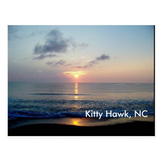 Sunrise At Kitty Hawk Postcard