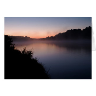 Sunrise at Lake Shenandoah Card