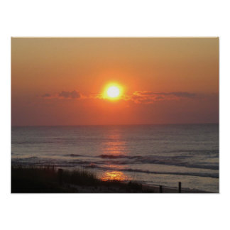 Sunrise at LBI Poster