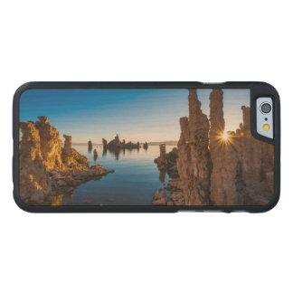 Sunrise at Mono lake, California Carved® Maple iPhone 6 Case