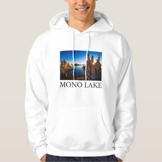 Sunrise at Mono lake, California Hoodie