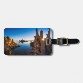 Sunrise at Mono lake, California Luggage Tag
