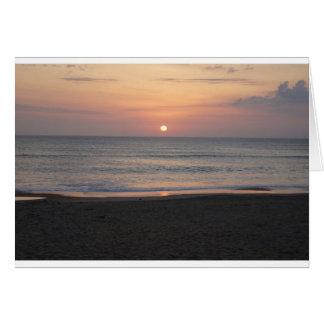 Sunrise at Myrtle Beach Card