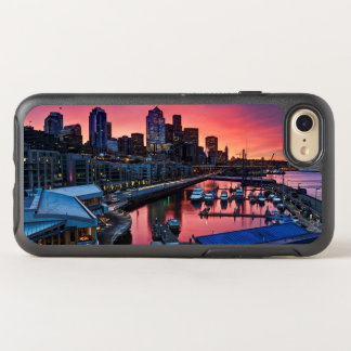 Sunrise at pier 66 looking down on bell harbor OtterBox symmetry iPhone 7 case