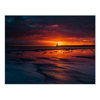 Sunrise at Roker Postcard