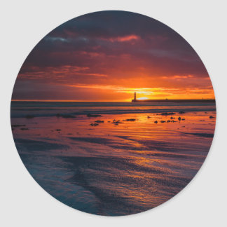 Sunrise at Roker Stickers