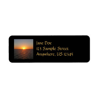Sunrise at Sea III Ocean Horizon Seascape