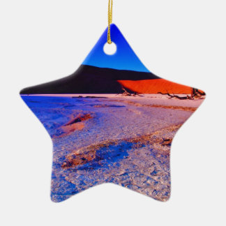 SUNRISE AT SOSSUSVLEI 01.jpg Ceramic Ornament