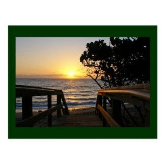 Sunrise at the Boardwalk Postcard